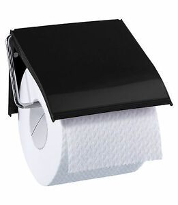 RETRO Toilet Loo Paper Roll Holder WALL 12x12.5cm  4 colours Blue Canyon