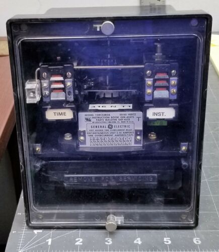 GE IFC53B2A / 12IFC53B2A TIME OVERCURRENT RELAY WORKING PULL [B1S4]