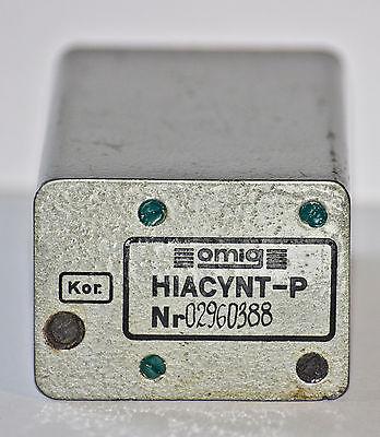Hiacynt-p Omig Giacint 5 Mhz Military Quartz Oscillator Frequency Standard Nos