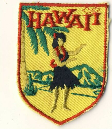 "Hawaii Hula Souvenir Tourist Backpack 2.75"" Voyageur Patch"