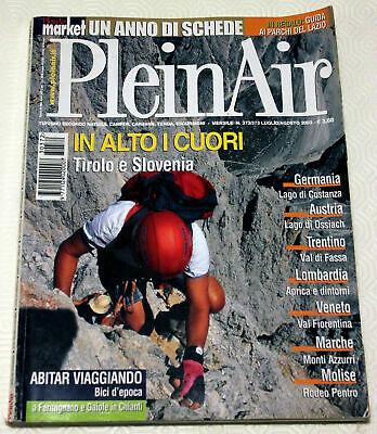 PleinAir 372/373 - 2003 valle dello Stubai, lago di Ossiach, biciclo e l'eroica