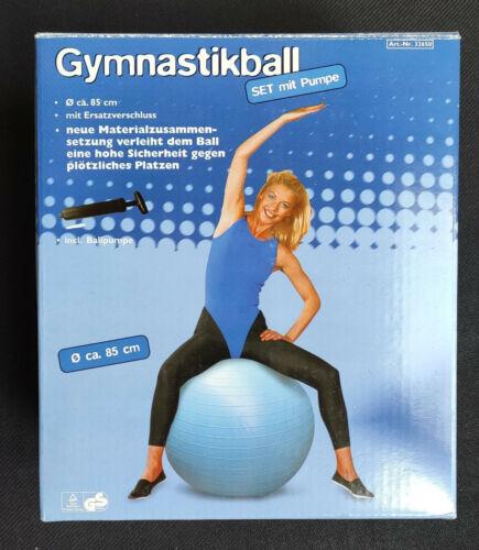 Gymnastikball mit Pumpe 85cm