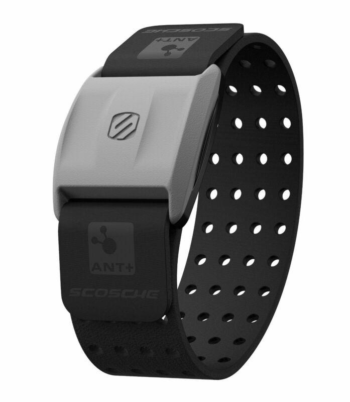 Scosche RHYTHM+ Heart Rate Monitor Armband - Black - Brand New