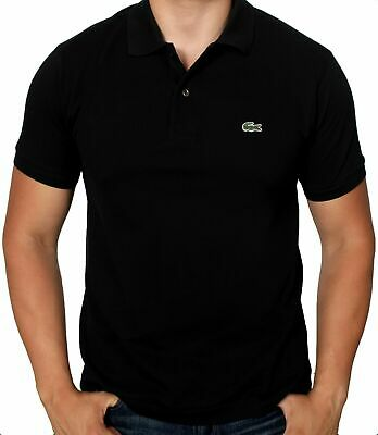 Lacoste Mens Shirts Midnight Black Size 3XL Polo Classic-Fit Pique $89- 540