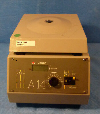 Jouan A14 Micro Centrifuge With 20 Pocket Roto 14000 Rpm