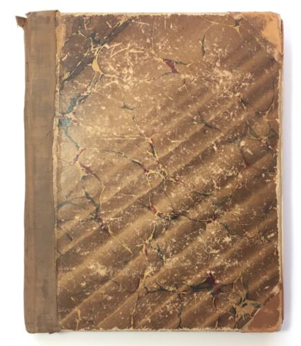 1892 Handwritten Manuscript New England Conservatory of Music (NEC) Piano Tuning