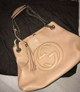 Gucci Soho Shoulder Chain Strap Medium - USED
