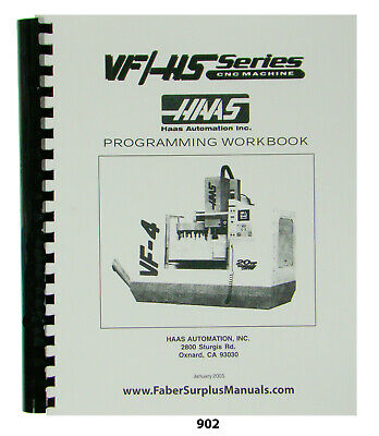 Haas Vf Hs Series Cnc Milling Machine Programmers Manual 902