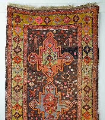 antiker Orientteppich Anatol 227x120 HOT colors antique village rug tappeto