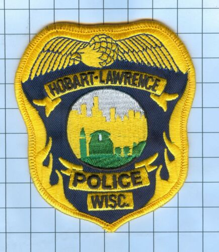 Police Patch  - Wisconsin -Hobart-Lawrence