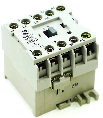New Ge Miniature Din R.magnetic Contactor Cr6zam 48vdc Coil Ca4-5c-10-48d