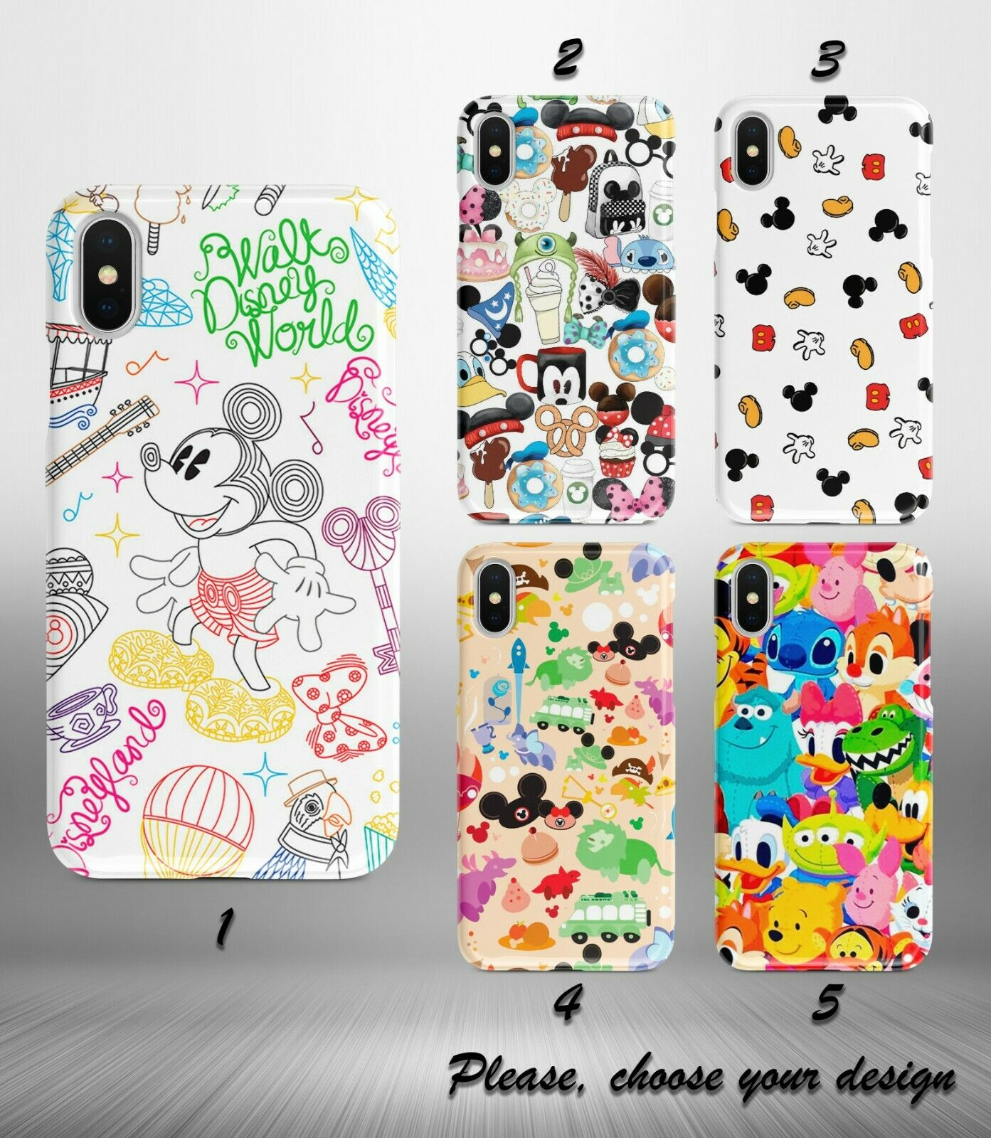 Disney case for Galaxy Note 10 10+ 9 8 5 plus google pixel 3