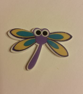 Flat Back Resins (Lot of 2 for $0.99), Cute Dragon Fly Insect, Hair Bows, Crafts - Insect Crafts