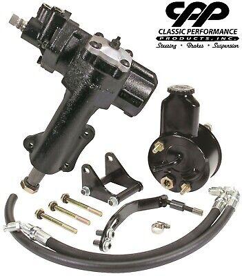 - 55 56 57 Chevy Belair Bel Air Power Steering Gear Box Upgrade Conversion Kit