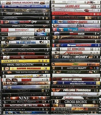 Assorted 30 DVD Lot! Best Variety & Price! Original Movies! Wholesale Bulk Lot!