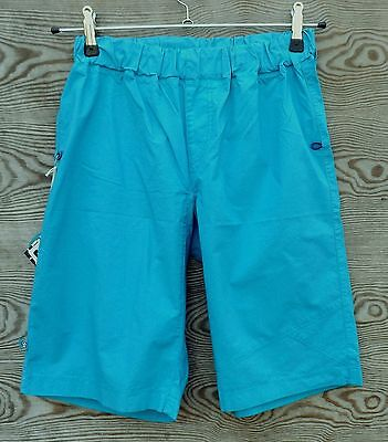 E9 Shorts 3D, Lightweight Shorts for Men, Cyan, Climbing Shorts ()