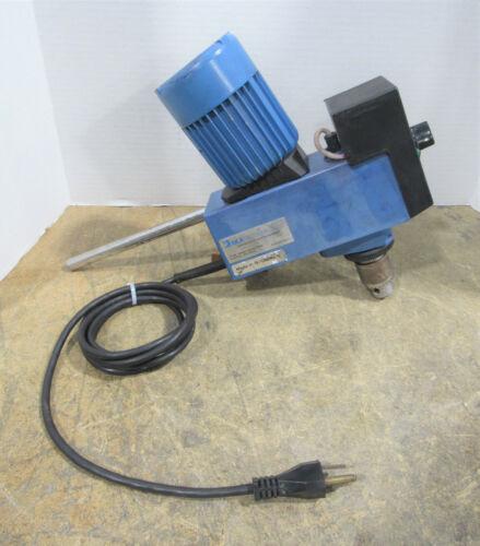 Janke & Kunkel IKSA-Labortechnik Type: RW 20 DZM Overhead Mixer w/ Display
