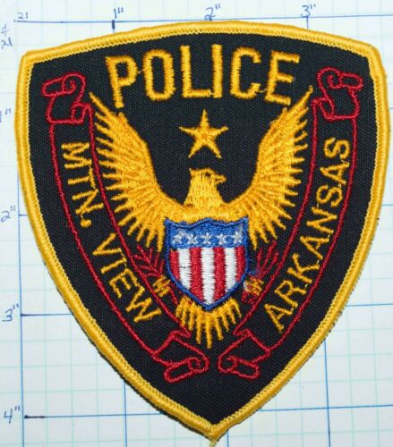 ARKANSAS, MTN MOUNTAIN VIEW POLICE DEPT PATCH