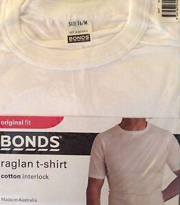 Bonds Original Fit Raglan T Shirt Size Small Mens Castle Hill The Hills District Preview
