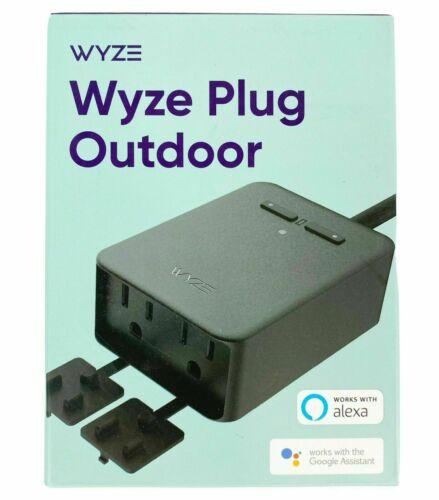Wyze Plug Outdoor NEW SEALED (2 Plugs In 1)  Model #WLPPO1-1
