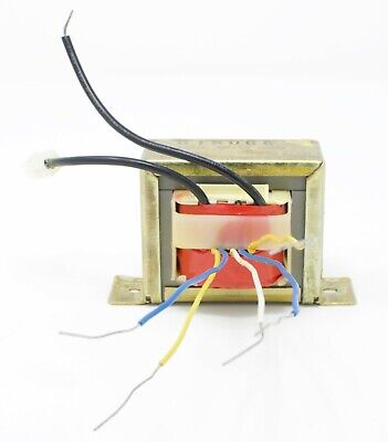 10vac15vac Multiple Tap 1 Amp Power Transformer Chassis Mount With Wire Leads