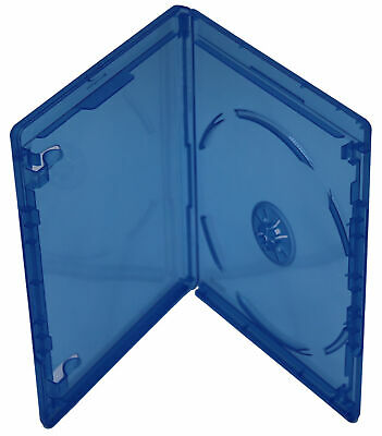Bluray Replacement Cases 12mm 1 Disc Single W/ Logo Premium Movie Storage Cases