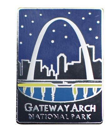 Gateway Arch National Park Pin - Official Traveler Series - St. Louis, (Park Gateway)