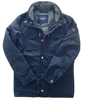 Hackett London Velospeed Moto Quilted Jacket - Large