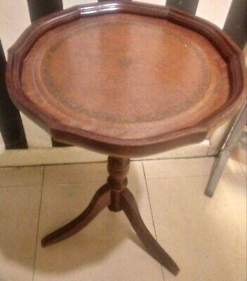 Reproduction Antique Tripod Legged Side Table