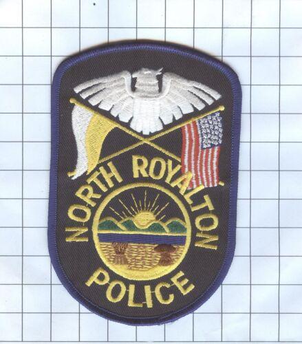 POLICE PATCH -  NORTH ROYALTON OHIO