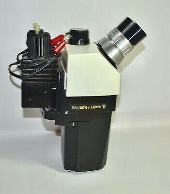 Bausch Lomb 1.0x-7.0x Stereozoom-7 Binocular Microscope Head Illuminator Light