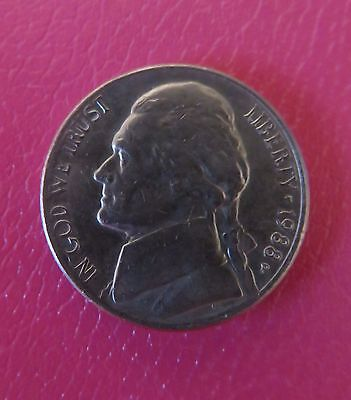 1988 United States Five Cent coin