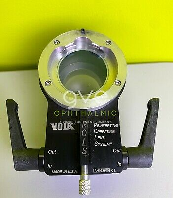 Volk Rols Wide-view System For Vitrectomy Retina For Carl Zeiss