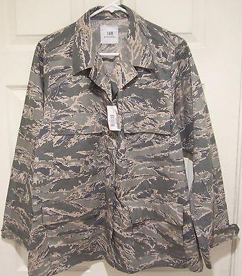 New Airman Battle Uniform - Woman's Airman Battle Uniform Digital Tiger Camo  Size: 16R NEW 8410-01-536-3812