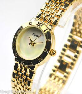 henley gold tone links bracelet gift idea
