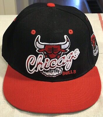 Windy City Baseball (Chicago Bulls Windy City Baseball Cap Black/Red Brim 47 Hardwood Classics)
