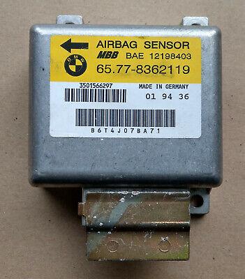 BMW E38 E39 Airbag Steuergerät Airbagsteuergerät Sensor 8362072