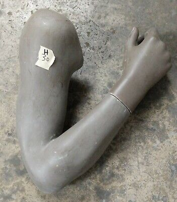 Used Mn-rsm-h Male Mannequin Bent Right Arm And Closed Hand Brown Mondo