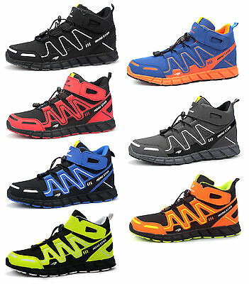 Herren Jungen High-Top Sneaker Sportschuhe Freizeitschuhe (Sneakers Schuhe Für Jungen)