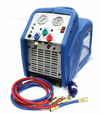 Portable 34 Hp Refrigerant Gas R410a R134a Hvac Ac Refrigerant Recovery Machine