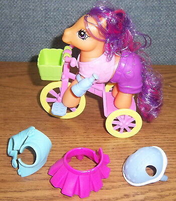 MLP My Little Pony RIDE N GO SCOOTALOO Bike Tricycle Outfits Bottle Set COMPLETE