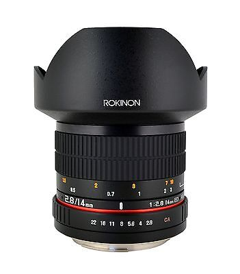 Rokinon 14mm F2.8 Ultra Wide Angle Lens - Newest Version!