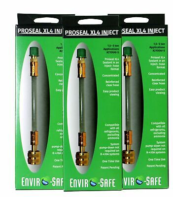 r22,r410a,easyseal,freon leak sealer,refrigerate leak sealant,3 pack for sale  Chillicothe