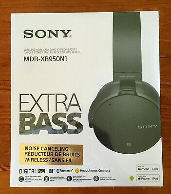 Sony MDR-XB950N1 EXTRA BASS Noise-Canceling Bluetooth Headphones Sealed in Box