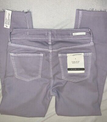 Pilcro and the Letterpress High Rise Bootcut Denim Lavender Jeans Size 26 High Rise Bootcut Jeans