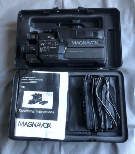 Vintage Magnavox VHS Camcorder CVJ340AV01