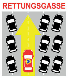 Rettungsgasse - Quelle: PMDesign via stock.adobe.com