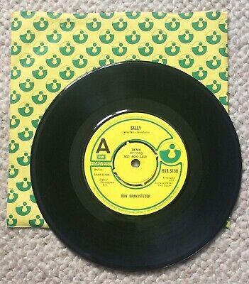 """Ron Brandsteder..Sally ..1977 Rock DEMO 7"""" HAR 5150 for sale  Bristol"""