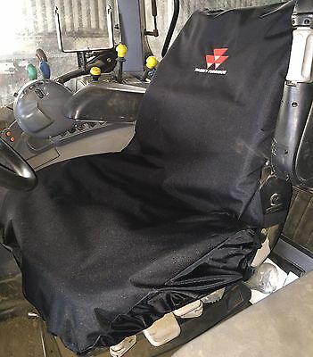 Embroidered with Massey Ferguson Logo Heavy Duty Waterproof Tractor Seat Cover