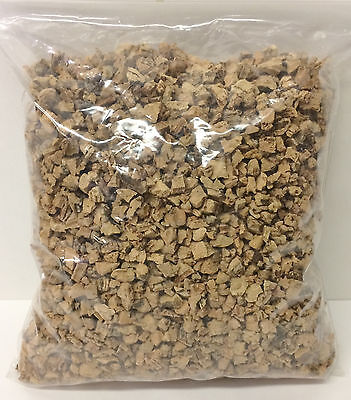 GROUND CORK 6-10 mm  1 Quart for MODELING, SCENERY